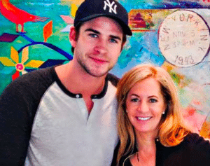 Liam Hemsworth and Debra Johnston