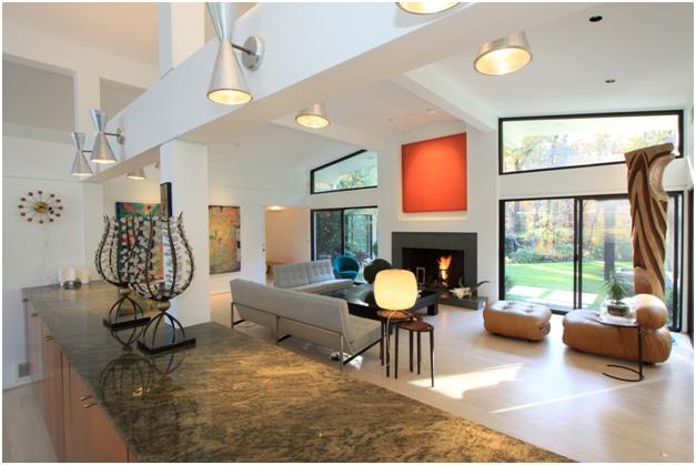 Ridgewood House Living Area